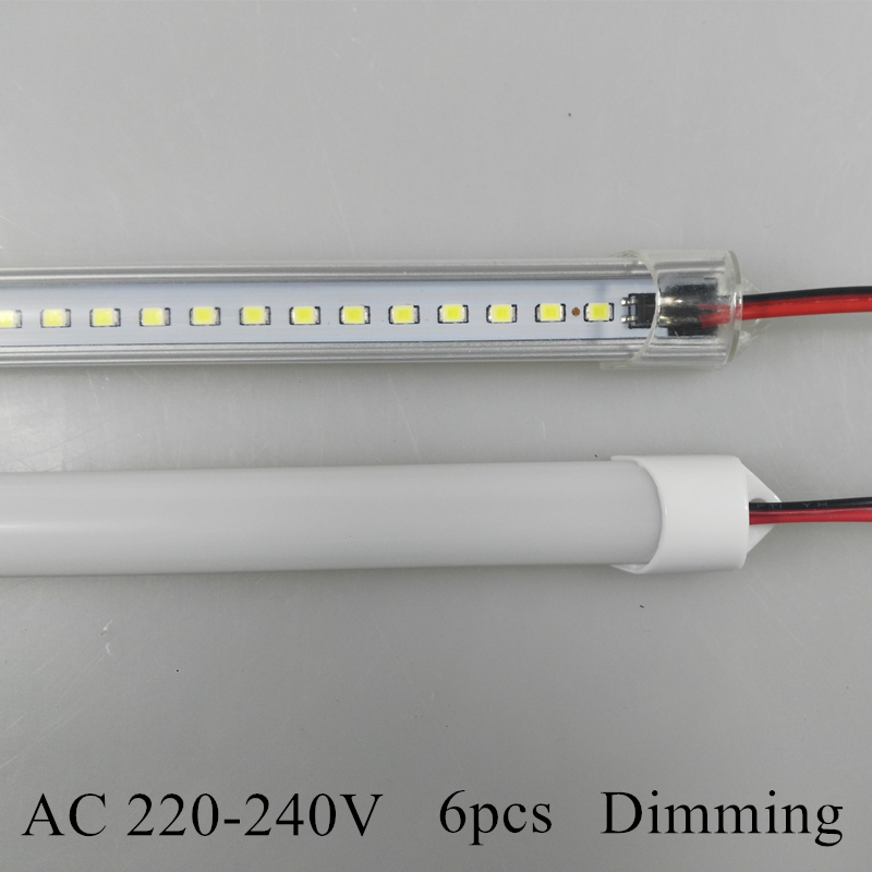 KINLAMS 6pcs Barras de luces LED AC220V 230V 2835 Tira rígida LED - Iluminación LED
