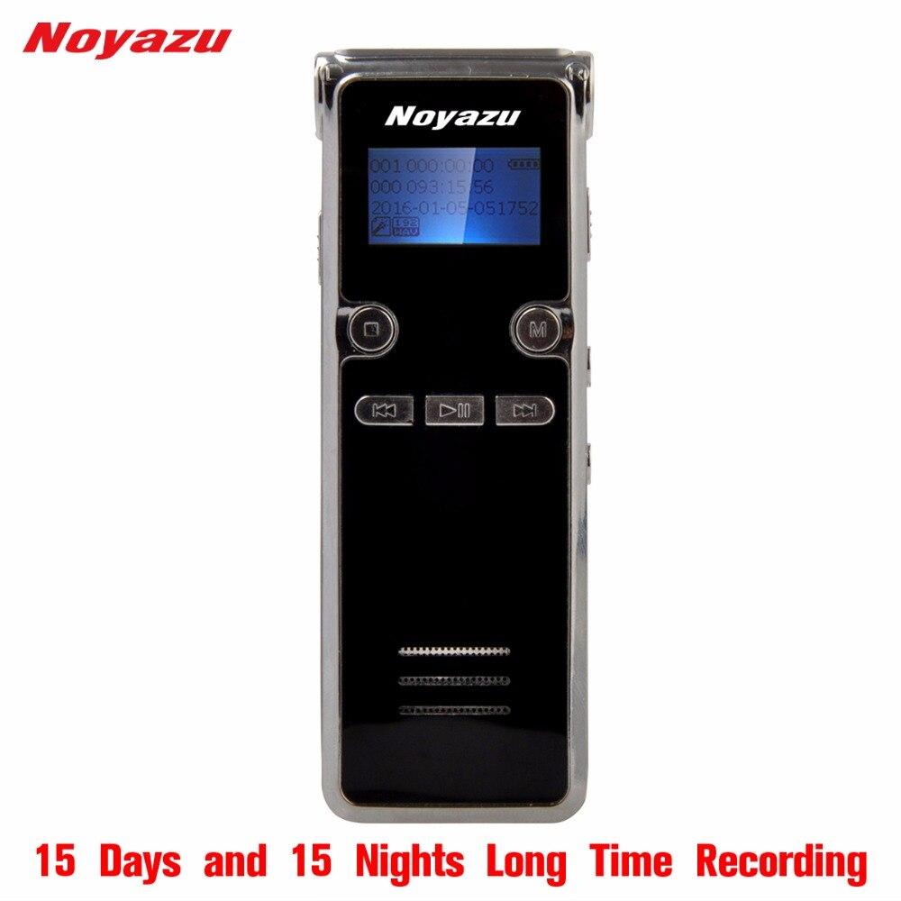 Noyazu Original 906 16G Memory Voice Recorder Support Telephone Recording Digital Audio Voice Recorder Mp3 Player