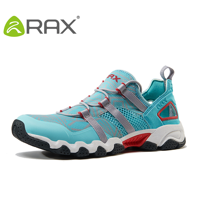 RAX New Men Women Quick Dry Aqua Shoes Non Slip Breathable Mesh Upstream Water Shoes Summer Hiking Fishing Shoes Outdoor Sports 2016 new couple hiking shoes breathable non slip outdoor sports shoes large size climbing shoes for men and women