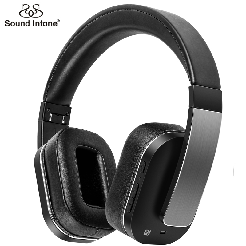 Sound Intone F9 Noise Reduction Bluetooth Headphones With NFC MIC Super Bass Wireless Headset Over Ear For PC All Phones MP3 DJ sound intone p30 wireless headphones with mic support tf card bluetooth headphone over ear headsets for xiaomi for iphone pc