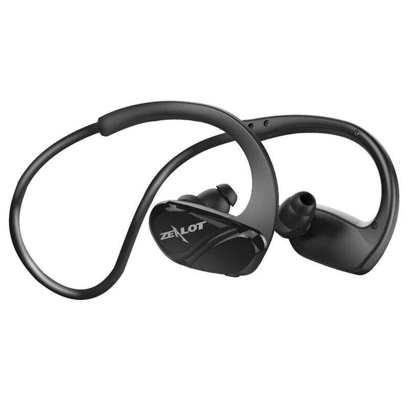 ZEALOT H6 Waterproof Bluetooth Earphone Stereo Wireless Headphone Fitness Sport Running Use Handsfree With Microphone