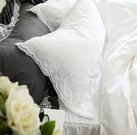 Элегантный принцесса кружева постельных принадлежностей для взрослых подростков малыша, полный королева король романтичный хлопковый Дом