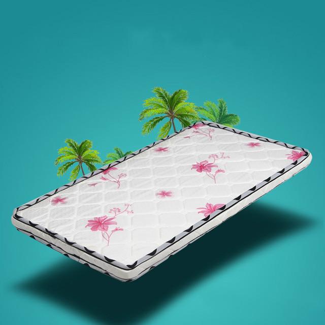Natural estera cuna colchón de palma de coco colchón y niños productos para bebés de formaldehído libre