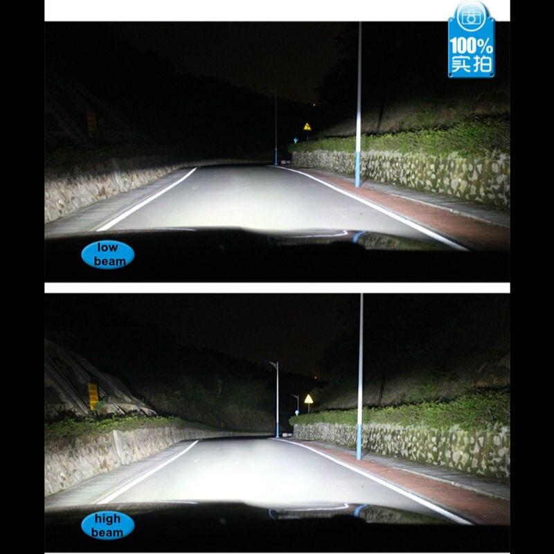 Ossen R4 H7 LED Headlight bulbs 30w 3600lm 3000k Yellow 4300k 5000k 6000k White 8000k Blue Auto Car Headlights Fog Lamp Kits 12v2