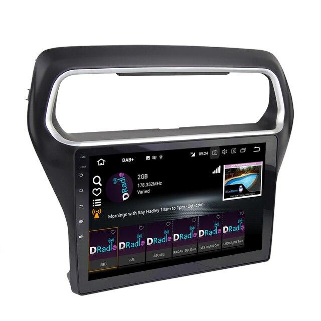 Eunavi-PX5 2 Din Car Android 9.0 | Autoradio, lecteur GPS multimédia pour FORD ESCORT 4G 64G 8Core, démarrage rapide TV 1080P 2015 tda7851