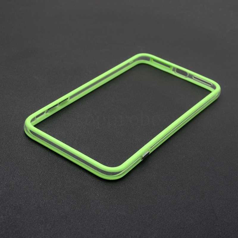 ハイブリッド中東透明ソフト tpu バンパーのための iphone 6 6s 7 8 プラス X XS 最大 XR 側保護フレームカバーソフトシリコンケース