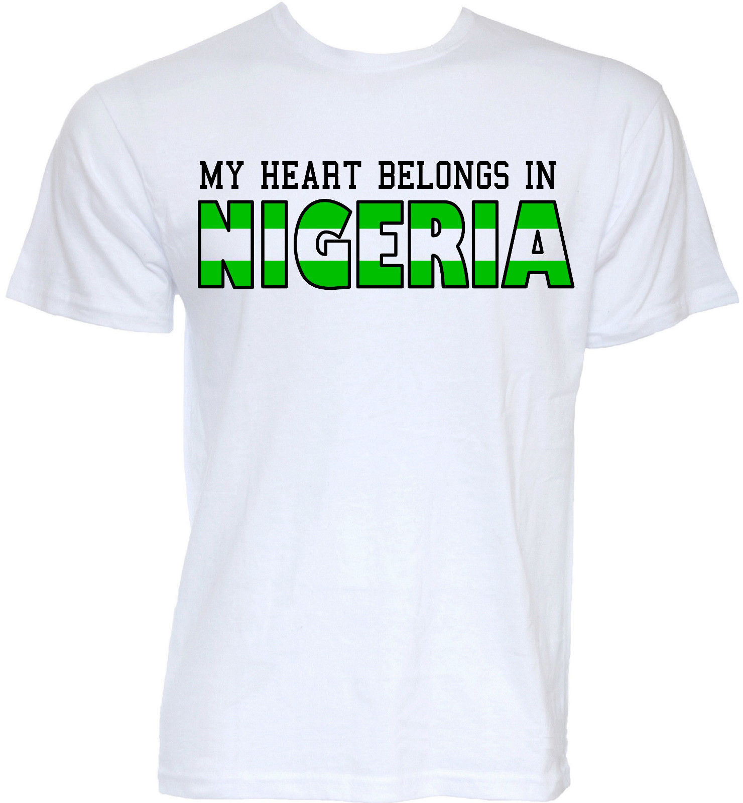 Shirt design in nigeria - Mens Funny Cool Novelty Nigeria Nigerian Flag Slogan T Shirts Joke Gifts T Shirt Print