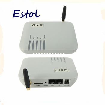 Hurtownie pojedyncze kanały GOIP1 bramka GSM VoIP (zmiana IMEI 1 karta SIM SIP i H 323 VPN PPTP) SMS bramka GSM tanie i dobre opinie Uxeitoo Bramka voip White