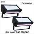 2 шт./лот светодиодный 1000 Вт RGB Стробоскоп светодиодный стробоскоп светильник для dj Дискотека для сцены