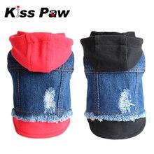 2015 New Arrival Fashion Dog Clothes Cowboy Coat Vintage Jean Pet Puppy Cat Jacket Apparel Blue XXS XS S M L Sizes