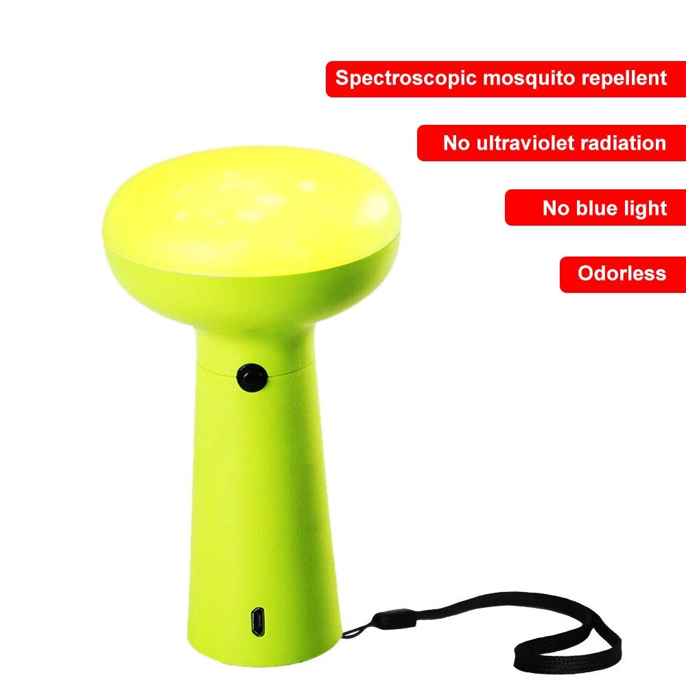 Lampe anti-insectes extérieure rechargeable sans lampe UV sans lampe portable de camping de pêche sans odeur bleue