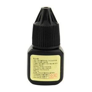 Image 3 - 1 şişe 5g bayan siyah kirpik eki tutkal hızlı kuruyan tutkal üzerinde süren 6 hafta düşük tahriş düşük duman makyaj araçları