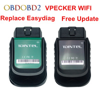 Original VPECKER Easydiag Wifi Diagnostic Scanner Vpecker WI FI Version V10.6 OBD2 Scan Interface Tool Full System Update Online