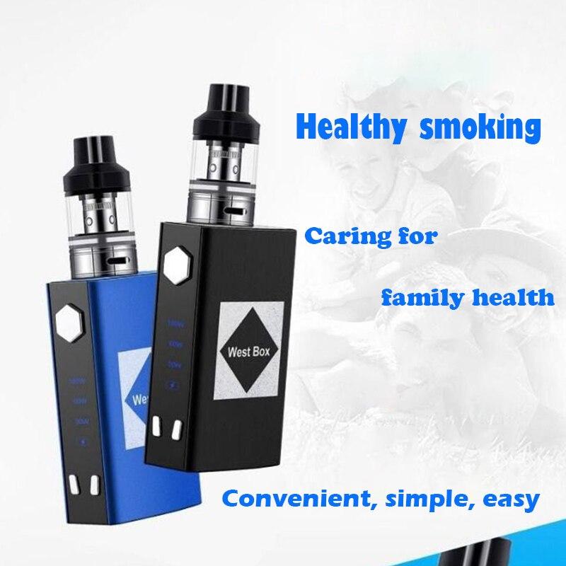 Original M4 100w box mod bulit-in 2200mah battery Electronic Cigarette Smoke Vaporizer Hookah vape kit temperature control Vapor caneta de fumaça
