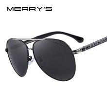 Merry's Дизайн Для мужчин Классический бренд Солнцезащитные очки для женщин HD поляризованные Алюминий Защита от солнца очки Роскошные оттенки UV400 s'8728