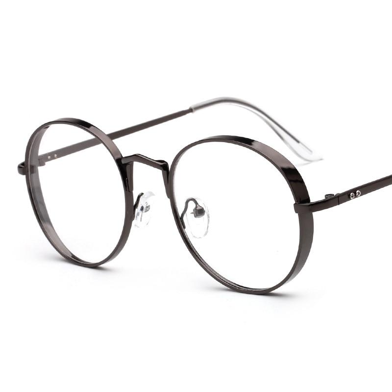 2017 neue Ankunft Metallrahmen Brillen Mode Runde Dicke Legierung ...