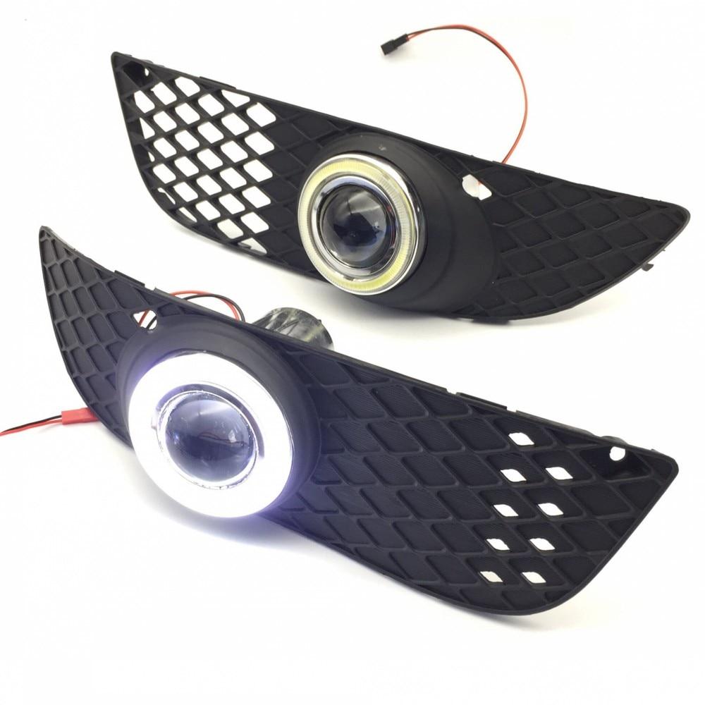 eeMrke For Mitsubishi Lancer EX LED Angel Eye DRL ցերեկային - Ավտոմեքենայի լույսեր - Լուսանկար 2
