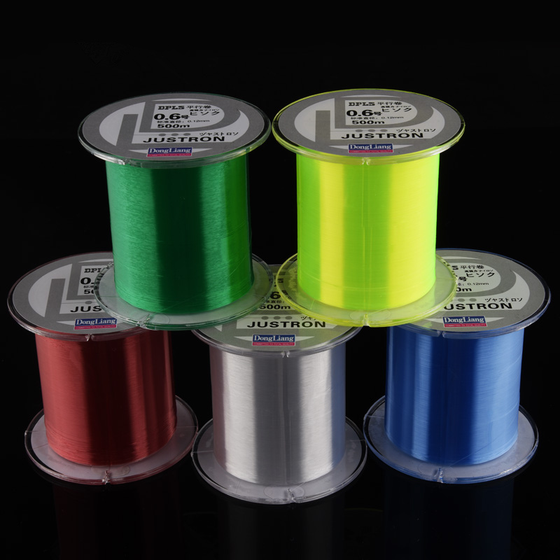DongLiang 500 meter Nylon Fishing Lines Fiske Rope Carbon Fiber Line Multifilament Stark Japan Sea Fly Fiske Linjer Pesca