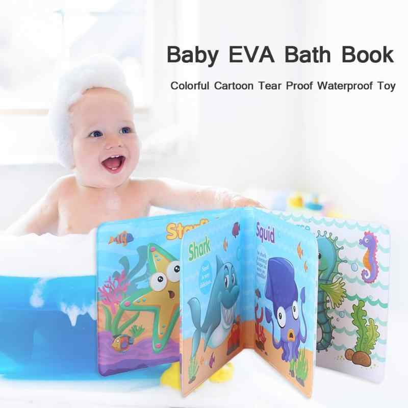 Tearing Resistance Baby Bath Toys Cognitive Book Floating Educational Game Kids Toys Gift Waterproof Bath Book Toys for Children