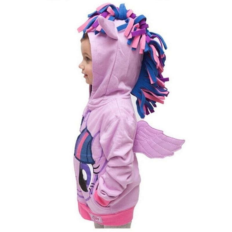 Girls Sweatshirts Hoodies Children Clothing Autumn And Winter Baby girl Thick Cotton Tops Kids Cute Cartoon Rabbit Hooded Coat 18