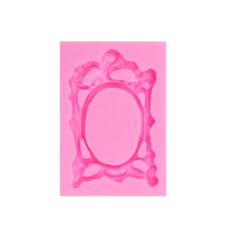 Retro Avropa stil çərçivəsi krujeva şəkər keki elastik silikon - Mətbəx, yemək otağı və barı - Fotoqrafiya 3