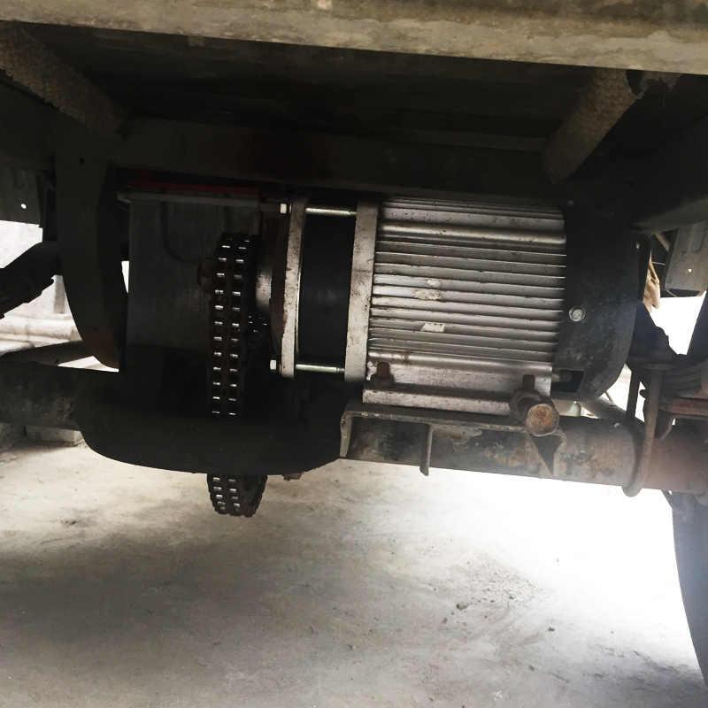 BM1412ZXF 1200 W 48/60 V Prototype de moteur électrique sans brosse de Tricycle électrique de GoKart pour le Kit de moteur de trois roues de voiture électrique