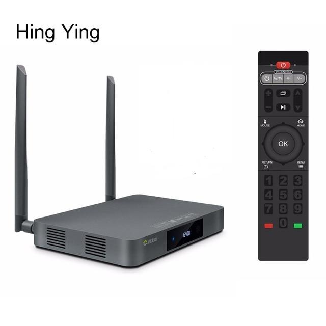 X9s zidoo tv box android 6.0 + openwrt (nas) Realtek RTD1295 2G/16G Dual WIFI Bluetooth 1000 M LAN Media Player W/Control Remoto
