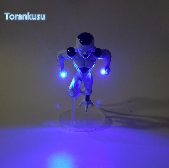 Image 2 - Dragon Ball Z Action Figure Freeza DIY Display Toy Dragonball Z Friza Esferas Del Dragon Freeza Toy DBZ+LED Light DIY10-in Action & Toy Figures from Toys & Hobbies on AliExpress