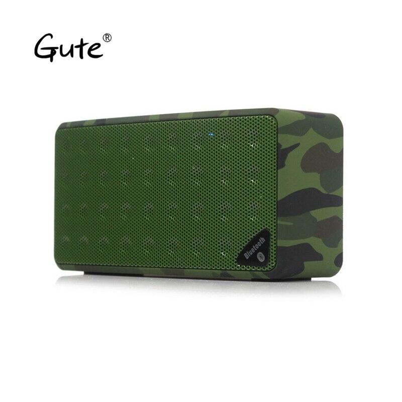 Gute quadrado alto-falantes Bluetooth enceinte bocina bt Rádio FM caixa de som portátil bluetooth caixa de som portatil pujante ch4 dia