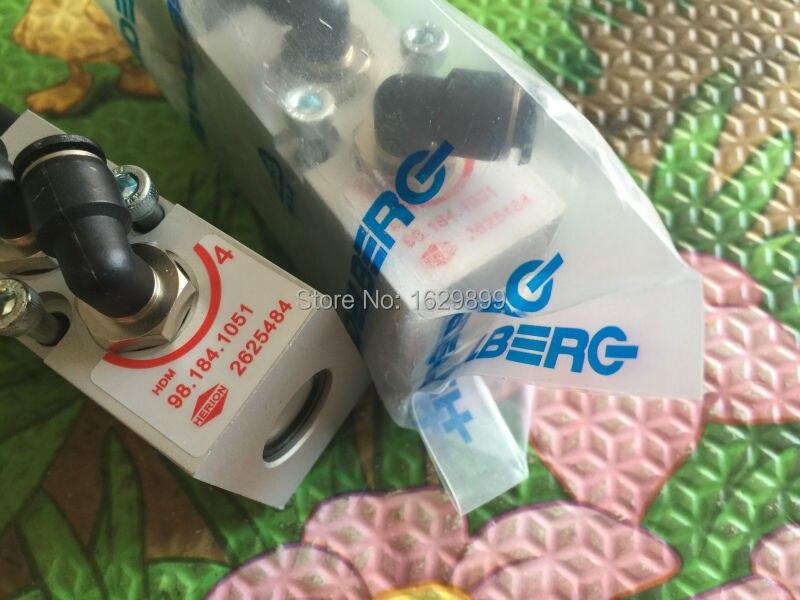 5 pieces Heidelberg SM102 CD102 parts valve 98.184.1051