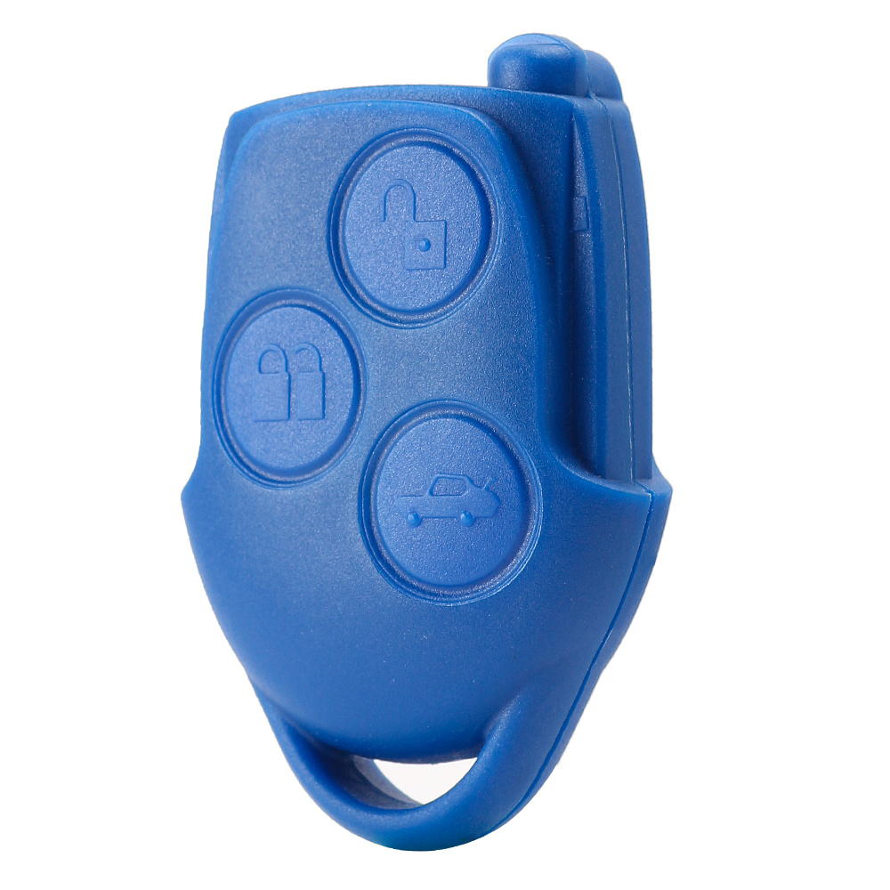 KEYECU оригинальный транзитный дистанционный ключ 3 кнопки FOB 433MHz 4D63 для Ford Transit WM VM 2006 2014 P/N: 6C1T15K601AG - 2