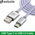 Leebote USB Type C Cable Data and Sync USB C Charger Cable for Nexus 5X,Nexus 6P,OnePlus 2,ZUK Z1,LG,for Xiaomi 4C USB-C Cable