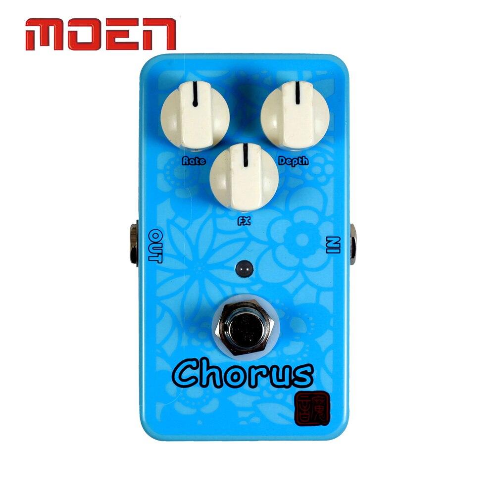 Moen Pedal Chorus Speaker Electric Guitar Effect Pedal True Bypass Design focal chorus 714 rosewood