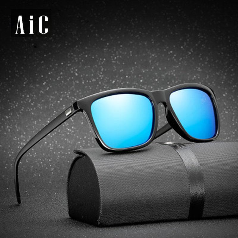 fec9b95b8afe6 Revestimento de moda Óculos De Sol Dos Homens Óculos Polarizados Homens  Condução óculos Espelhos Pontos Preto