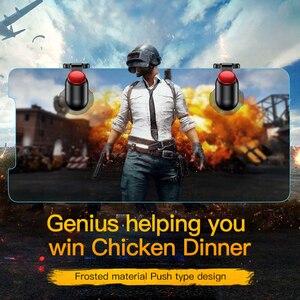Image 2 - Baseus для Pubg игровой геймпад L1 R1 геймпад триггер для iPhone XR Xs Max Aim Fire кнопка для 4,0 6,5 дюймов Мобильный телефон Аксессуары