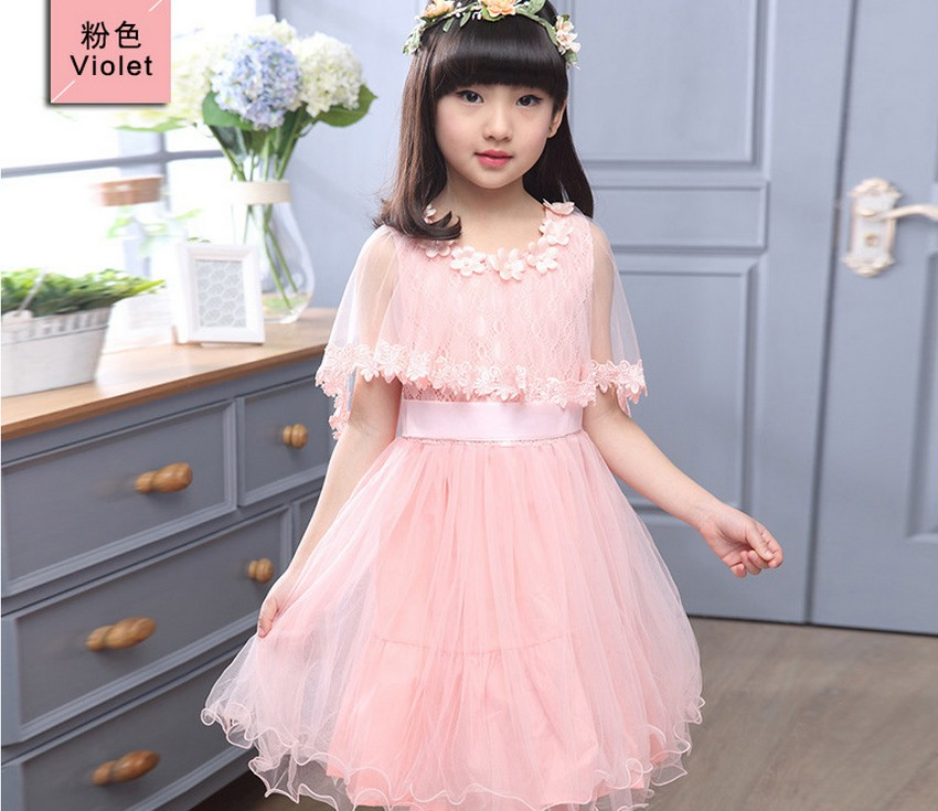Girls Dress Princess Kid Wedding Dresses teenage girls clothes Kids Clothing Children Party Dress for 4 5 6 7 8 9 10 11 12 yesrs kids girls clothes american little girl party dresses wedding clothing 3 4 5 6 7 8 years girls children blue pink princess dress