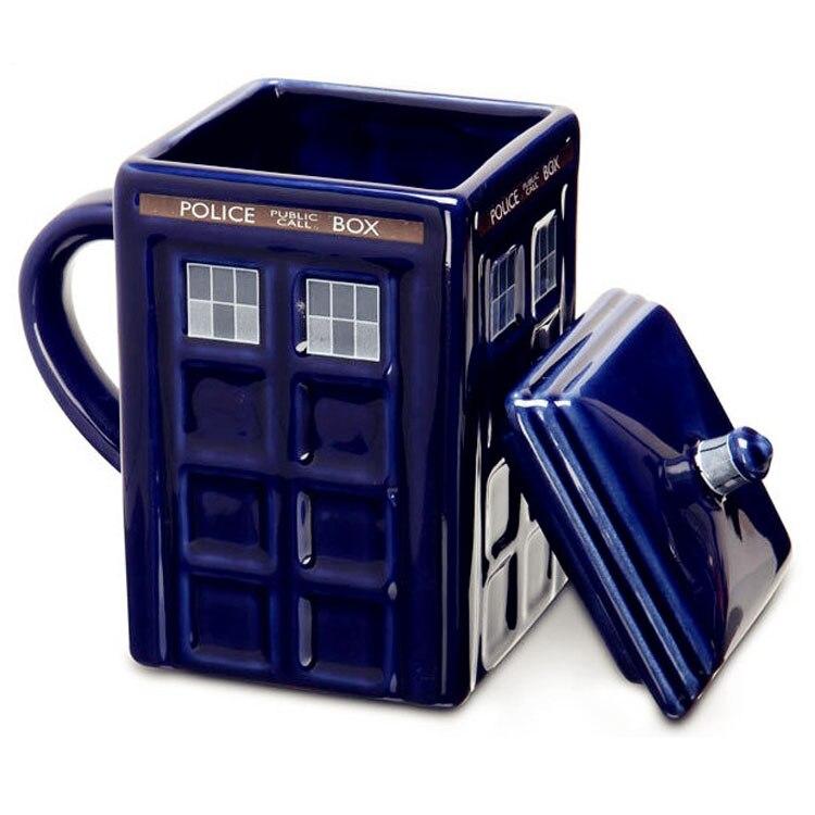 Doctor who tardis dr mug ceramic coffee cup tardis mug