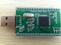 High speed USB to 4 serial parallel port module (Android, PC dual use) FT4232HL