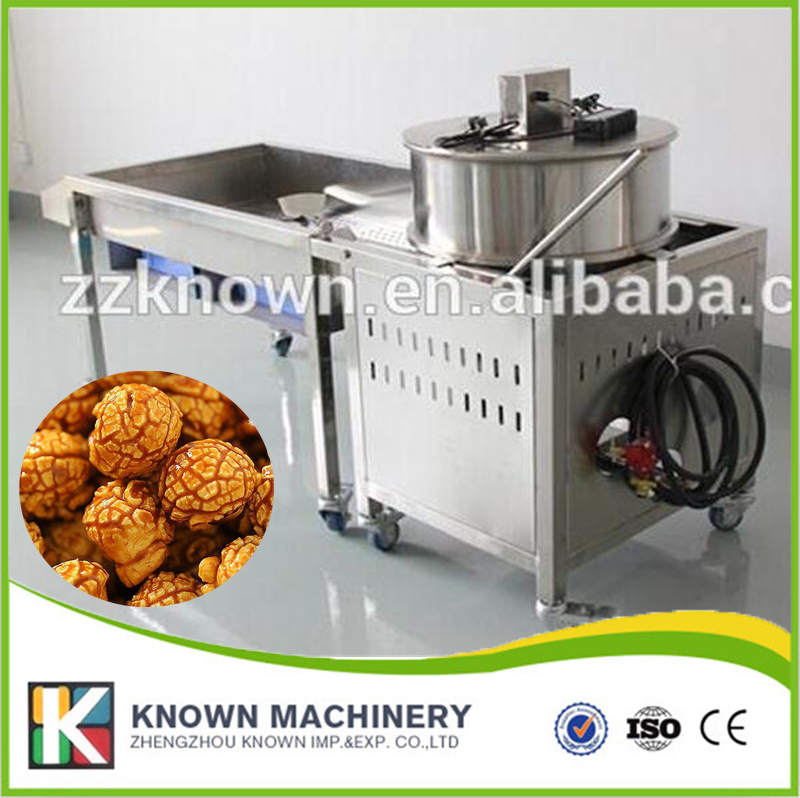 Best seller Palla a gas in acciaio inox Popcorn maker MachineBest seller Palla a gas in acciaio inox Popcorn maker Machine