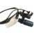 BP de Ampliação 6.0x Lupas Profissionais com Preto Quadro de Esportes e Montado CONDUZIU A Luz Cabeça Ajustável Distância Aluno