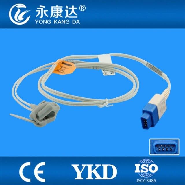 GE ADULT Trusignal TS F D spo2 sensor Neoante Silicon Wrap spo2 sensor