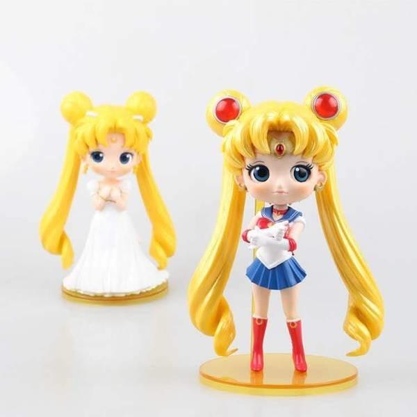 ̿̿̿(•̪ )Sailor Moon cristal vestido de boda Chiba Mamoru Sailor ...