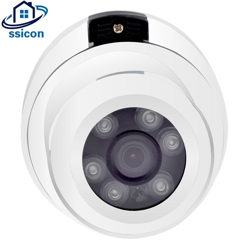 SSICON 5MP AHD Camera Dome SONY326 CMOS Sensor 3.6mm Lens 6Pcs Array Leds Night Vision Vandalproof Analog CCTV Camera Indoor