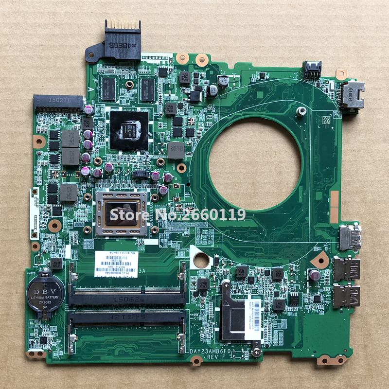High quality laptop motherboard for 766715-501 766715-001 15-P DAY23AMB6F0 Fully tested high quality laptop motherboard for 15 n da0u93mb6d0 734826 501 734826 001 system board fully tested