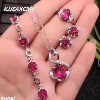 e90e4a95b2e8 KJJEAXCMY 999 plata esterlina joyas de plata lotus ahorro de energía ...