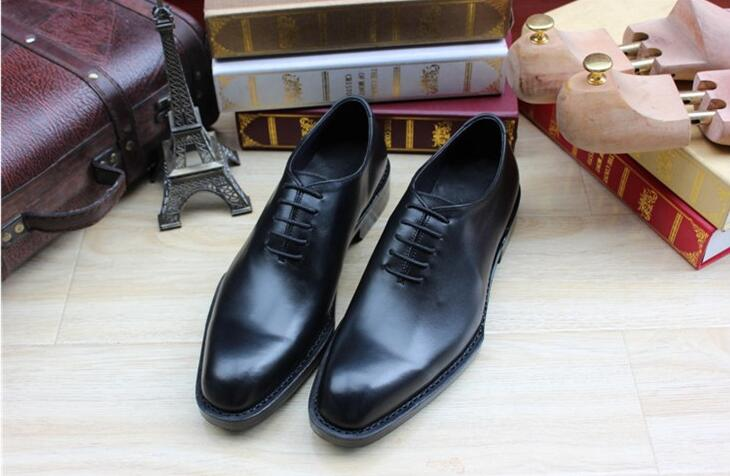 Sipriks custom thick leather soled dress shoes men black mens oxford dress  shoes italian best mens tuxedo shoes wedding flats-in Formal Shoes from  Shoes on ... 6416dd41778c