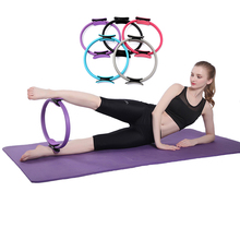 Yoga Circles Pilates Professional Waist Shape Body Building ABS Gym Workout Magic Wheel Back Training Tool For Fitness