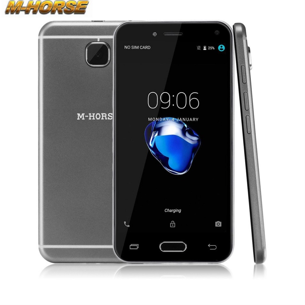 M HORSE 5 Smart Mobile Phone Android Dual SIM Cards Quad Core 512M 4G Cell Phone