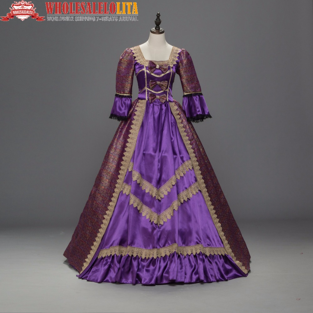 Victorian Gothic Period Renaissance Queen Bridesmaid Game of Thrones Dress Gown Theatre Clothing