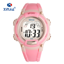 Boy and girl Digital Watch Sports Alarm Stopwatch Watches 50M Waterproof Children's Wristwatches Student Hours New